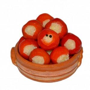 Káposztával Töltött Piros Cseresznye Paprika